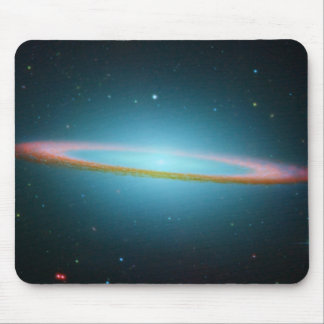 NASA - The Sombrero Galaxy in Infrared Light Mouse Pad