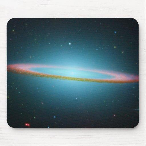 NASA - The Sombrero Galaxy in Infrared Light Mouse Mat