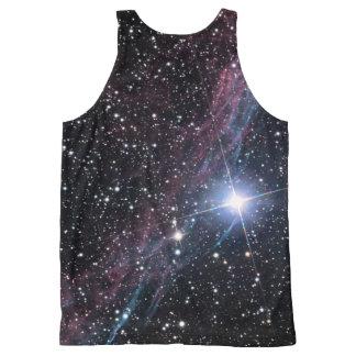NASA Veil Nebula All-Over Print Tank Top