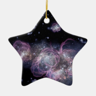NASAs Baby Galaxy in a Grown-Up Universe Christmas Ornament