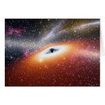 NASAs Black hole Greeting Card