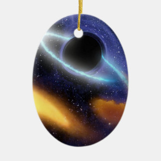 NASAs Black hole PIA01884 Christmas Ornament