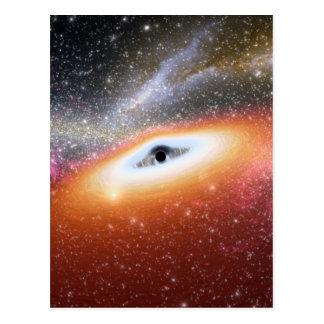 NASAs Black hole Postcard
