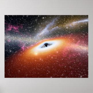 NASAs Black hole Poster