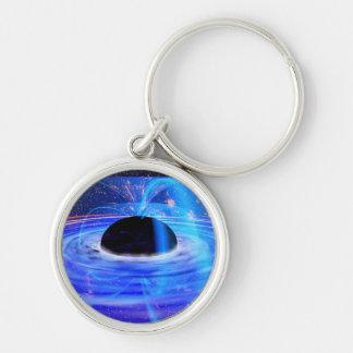 Nasa's Blue Black Hole Key Chain