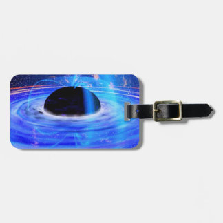 Nasa's Blue Black Hole Luggage Tag