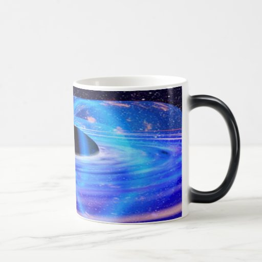 Nasa's Blue Black Hole Mug