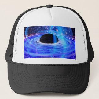 Nasa's Blue Black Hole Trucker Hat