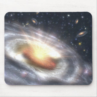NASAs Bursting with Stars and Black Holes Mouse Pad