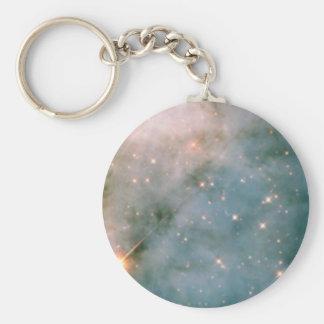 NASAs Carina Basic Round Button Key Ring