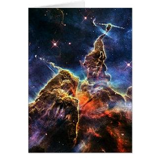NASAs Carina Nebula Greeting Card