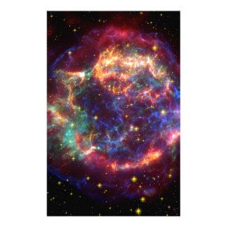 NASAs Cassiopeaia supernova Personalized Stationery