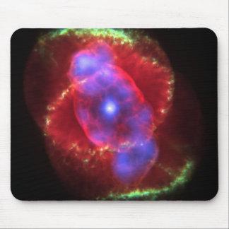 NASAs Cat's Eye Nebula Mouse Pad