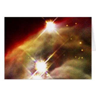 NASAs Cone Nebula Greeting Card
