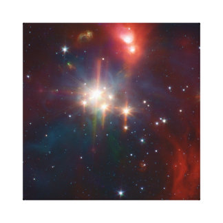 NASAs Coronet Cluster Stretched Canvas Print