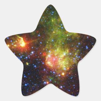 NASAs Dusty death of a massive star Star Sticker