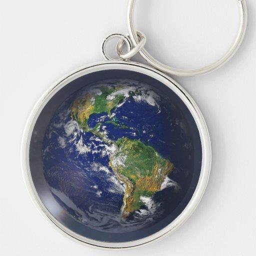 NASAs Earth rising II Keychain