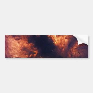 NASAs Flame nebula Car Bumper Sticker