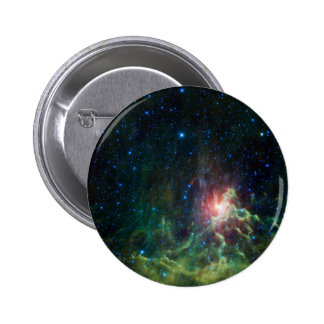 NASAs Flaming star 6 Cm Round Badge