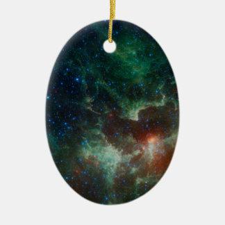 NASAs Heart And Soul Nebula Christmas Ornament