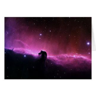 NASAs Horsehead Nebula Greeting Card