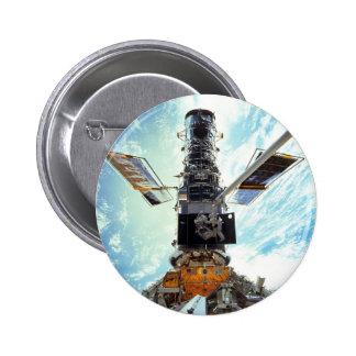 NASAs Hubble telescope 6 Cm Round Badge