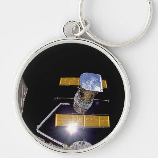 NASAs Hubble telescope Key Chains