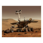 NASA's Mars Rover 'Spirit' Posters