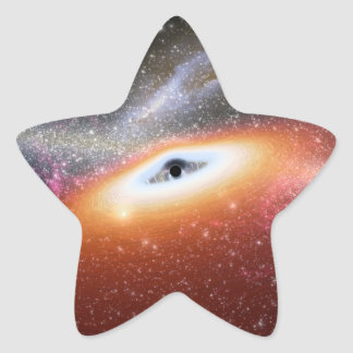 NASAs Massive Black Hole Star Sticker