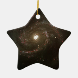 NASAs Messier 100 galaxy Christmas Ornament