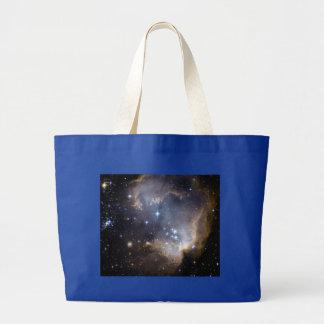 NASAs NGC602 galaxy Jumbo Tote Bag