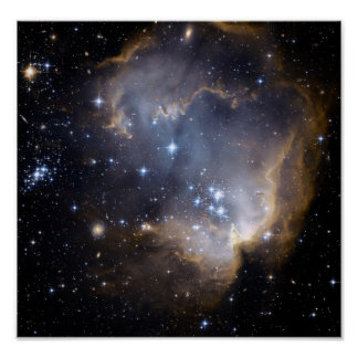 NASAs NGC602 galaxy Print