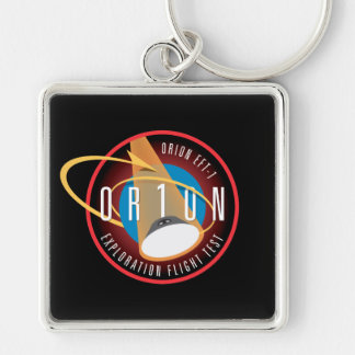 NASA's Orion EFT-1 Flight Official Mission Patch Key Chain