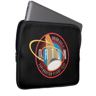 NASA's Orion EFT-1 Flight Official Mission Patch Laptop Sleeve