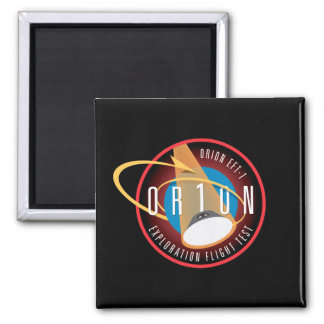 NASA's Orion EFT-1 Flight Official Mission Patch Refrigerator Magnets