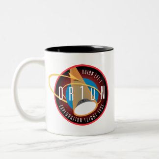 NASA's Orion EFT-1 Flight Official Mission Patch Two-Tone Mug