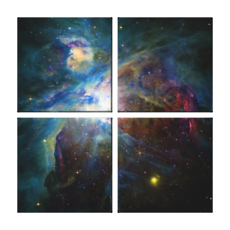NASAs Orion galaxy Stretched Canvas Prints