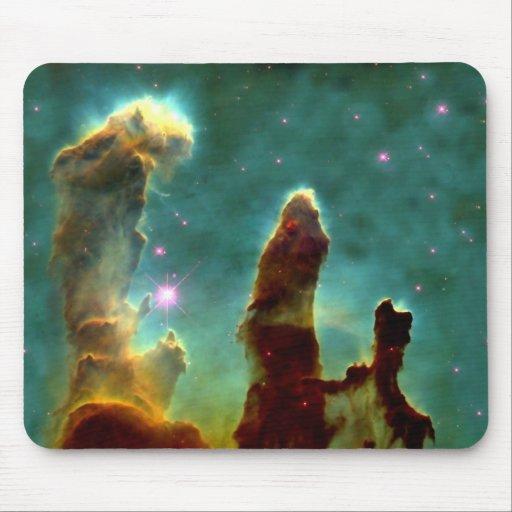 NASAs Pillars of creation Mouse Pads