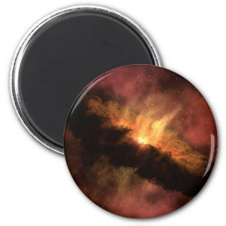 NASAs Planet-Forming Disk 6 Cm Round Magnet