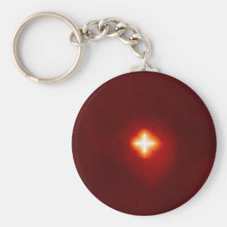 NASAs Planet X Basic Round Button Key Ring