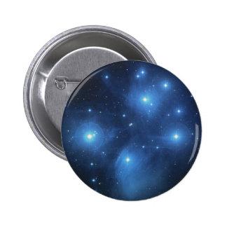 NASAs Pleiades 6 Cm Round Badge