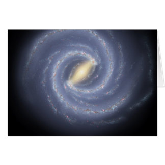 NASA's Road map to the Milky Way Card
