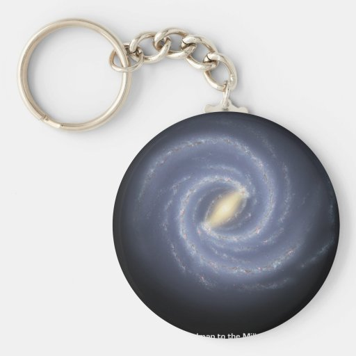 NASA's Road map to the Milky Way Key Chains