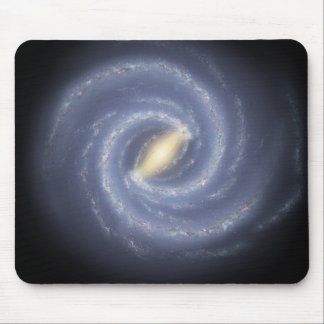 NASA's Road map to the Milky Way Mouse Pad
