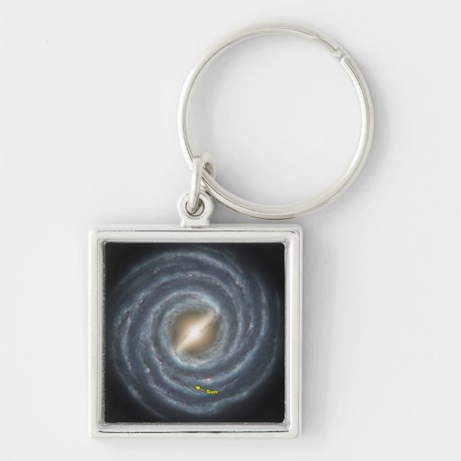NASAs Sun in the Milky way Key Chains