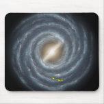 NASAs Sun in the Milky way Mousepads