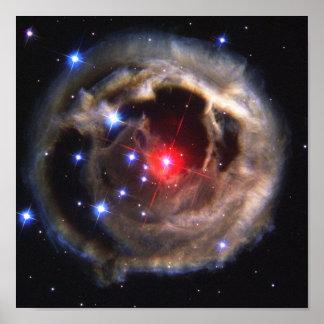 NASAs V838 Monocerotis Poster