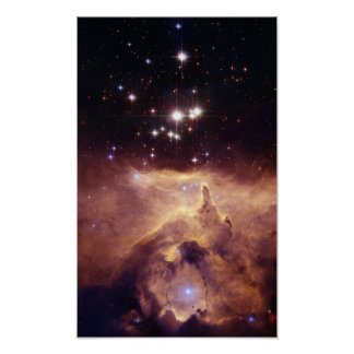 NASAs War and peace NGC6357 Poster
