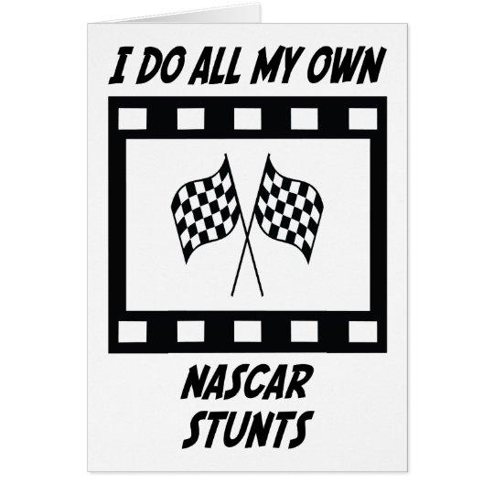 NASCAR Stunts Card