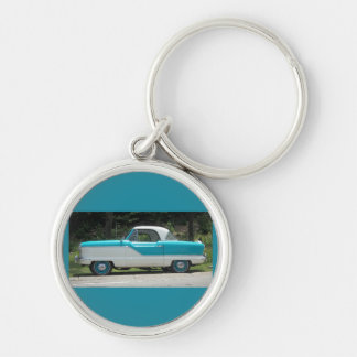 Nash Hudson Metropolitian blue and white Key Ring